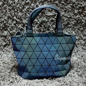 กระเป๋าสะพายแฟชั่น กระเป๋าสะพายข้างผู้หญิง Barel Mini logo สามเหลี่ยม สีรุ้ง [สีรุ้ง ]
