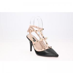 พร้อมส่ง รองเท้าส้นสูงแฟชั่น K2937-BLK [สีดำ]