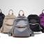 พร้อมส่ง กระเป๋าเป้ผ้าไนล่อนผู้หญิง-BAG-008 [สีดำ] thumbnail 2