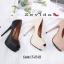 พร้อมส่ง รองเท้าคัชชูเปิดหน้า 17-2318-PNK [สีชมพู] thumbnail 5
