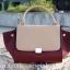 กระเป๋าสะพายแฟชั่น กระเป๋าสะพายข้างผู้หญิง Days bag [สีแดง] thumbnail 3
