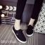 พร้อมส่ง รองเท้าผ้าใบแฟชั่น G8169-BLK [สีดำ] thumbnail 1