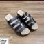 พร้อมส่ง รองเท้าสวมลำลองส้นเตารีด 981-70-BLK [สีดำ] thumbnail 1