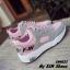 พร้อมส่ง รองเท้าผ้าใบผู้หญิง SM9023-PNK [สีชมพู] thumbnail 3