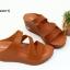 พร้อมส่ง รองเท้าส้นเตารีดแบบสวม 40075-BRN [สีน้ำตาล] thumbnail 1