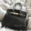 พร้อมส่ง กระเป๋าสะพายข้างผู้หญิง Birkin PU 25 cm [สีดำ] thumbnail 3