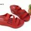 พร้อมส่ง รองเท้าส้นเตารีดแบบสวม 40075-MAR [สีม่วง] thumbnail 1