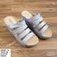 พร้อมส่ง รองเท้าสวมลำลองส้นเตารีด 981-70-GRA [สีเทา] thumbnail 1