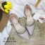 พร้อมส่ง รองเท้าคัทชูส้นแบน สไตล์Valentino G-1169-PNK [สีชมพู] thumbnail 5