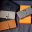 พร้อมส่ง กระเป๋าตังค์ผู้หญิง Wallet leather [สีเทา ] thumbnail 4