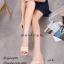 พร้อมส่ง รองเท้าส้นเตารีด สไตล์แบรนด์ดัง 17-2285-ครีม [สีครีม] thumbnail 1