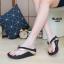 พร้อมส่ง รองเท้าเพื่อสุขภาพ ฟิทฟลอปหนีบ L2821-BLK [สีดำ] thumbnail 1