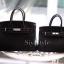 พร้อมส่ง กระเป๋าสะพายข้างผู้หญิง BK super 30 cm [สีดำ] thumbnail 3