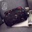 พร้อมส่ง กระเป๋าเป้แฟชั่นนำเข้าทรงเก๋ส์สไตล์แบรนด์ดัง [สีดำ] thumbnail 5