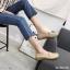 พร้อมส่ง รองเท้าคัทชูส้นเตี้ย N0119D4-CREAM [สีครีม] thumbnail 2