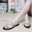 พร้อมส่ง รองเท้าแตะผู้หญิง M1860-BLK [สีดำ] thumbnail 1