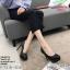 พร้อมส่ง รองเท้าคัชชูงานเกาหลีนำเข้า K9316-BLK [สีดำ] thumbnail 1
