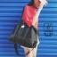 พร้อมส่ง กระเป๋าแฟชั่นนำเข้าทรง TRAVEL BAG ดีไซน์เก๋ส์ [สีดำ] thumbnail 1