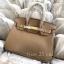 พร้อมส่ง กระเป๋าสะพายข้างผู้หญิง Birkin PU 25 cm [สีน้ำตาล] thumbnail 2