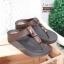 พร้อมส่ง รองเท้าเพื่อสุขภาพ ฟิทฟลอปหนีบ L2928-BRN [สีน้ำตาล] thumbnail 2