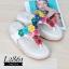 พร้อมส่ง รองเท้าเพื่อสุขภาพ ฟิทฟลอบพื้นนูน L2861-WHT [สีขาว] thumbnail 2