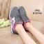 พร้อมส่ง รองเท้าผ้าใบผู้หญิง SM9022-GRY [สีเทา] thumbnail 2