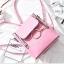 พร้อมส่ง กระเป๋าสะพายผู้หญิง - BAG-033 [สีชมพู] thumbnail 2