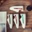 พร้อมส่ง รองเท้าผ้าใบคาดข้างเมทัลลิค G-1202-BLK [สีดำ] thumbnail 3