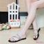 พร้อมส่ง รองเท้าแตะผู้หญิง M1860-BLK [สีดำ] thumbnail 2