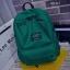 พร้อมส่ง กระเป๋าเป้ผู้หญิงผ้าไนล่อนสีสดใส-BAG-014 [สีเขียว] thumbnail 1