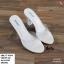 พร้อมส่ง รองเท้าส้นสูง ส้นแก้ว 17-4094-CRM [สีครีม] thumbnail 3