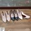 พร้อมส่ง รองเท้าคัชชูผู้หญิง หนังลายวัว K9080-PNK [สีชมพู] thumbnail 5