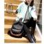 พร้อมส่ง กระเป๋าเป้แฟชั่นนำเข้าทรงยอดฮิตสไตล์เกาหลี [สีดำ] thumbnail 2