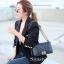 พร้อมส่ง กระเป๋าสะพายข้างผู้หญิง New CN BOY 10นิ้ว [สีดำ] thumbnail 2