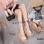 พร้อมส่ง รองเท้าส้นเตารีด สไตล์เกาหลี zevida 17-2285-CRM [สีครีม] thumbnail 3