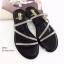 พร้อมส่ง รองเท้าแตะผู้หญิง M1860-BLK [สีดำ] thumbnail 3