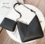 พร้อมส่ง กระเป๋าสะพายไหล่ผู้หญิง-BAG-021 [สีดำ]