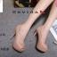 พร้อมส่ง รองเท้าคัชชูเปิดหน้า 17-2318-PNK [สีชมพู] thumbnail 3