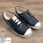 พร้อมส่ง รองเท้าผ้าใบสวม สไตล์ลิปออน D601003-BLK [สีดำ] thumbnail 1