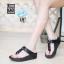 พร้อมส่ง รองเท้าเพื่อสุขภาพ ฟิทฟลอปหนีบ L2928-BLK [สีดำ] thumbnail 1