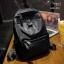 พร้อมส่ง กระเป๋าเป้ผู้หญิงผ้าไนล่อน-BAG-031 [สีดำ]