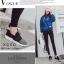 พร้อมส่ง รองเท้าผ้าใบยางยืด คาดบน G-1284-GRY [สีเทา] thumbnail 2