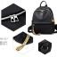 พร้อมส่ง กระเป๋าเป้ไนล่อน-BAG-017 [สีดำ/เหลือง] thumbnail 2