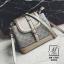 กระเป๋าสะพายกระเป๋าถือ แฟชั่นนำเข้าสุดหรู ทรงฝาปิดสไตล์แบรนด์ดัง MB-17071-GLD [สีทอง] thumbnail 1
