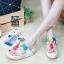 พร้อมส่ง รองเท้าเพื่อสุขภาพ ฟิทฟลอบพื้นนูน L2861-WHT [สีขาว] thumbnail 1