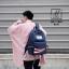 พร้อมส่ง กระเป๋าเป้แฟชั่นนำเข้าสไตล์เกาหลีสุด cool [สีน้ำเงิน] thumbnail 3