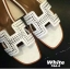 พร้อมส่ง Hermes sandal 766-4-WHI [สีขาว] thumbnail 3