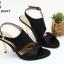 พร้อมส่ง รองเท้าส้นเข็มเปิดหน้ารัดท้ายโชว์ส้น 26-27-BLK [สีดำ] thumbnail 1