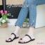 พร้อมส่ง รองเท้าแตะผู้หญิง M1843-BLK [สีดำ] thumbnail 2
