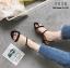 พร้อมส่ง รองเท้าแตะสวม รัดหลัง G-1151-BLK [สีดำ] thumbnail 4